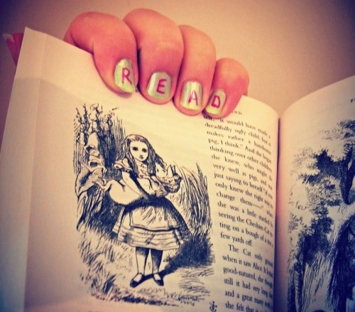 Alice in Wonderland book photo by Starry Raston via Flickr