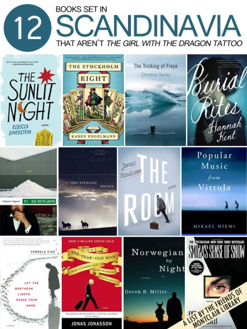12 Books Set in Scandinavia, a list by the Friends of Montclair Library