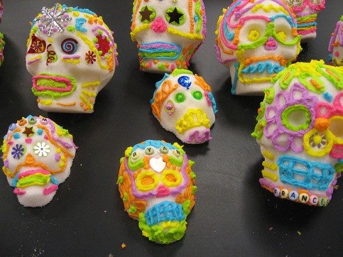 Sugar skulls photo by Allen County (IN) Public Library via Flickr