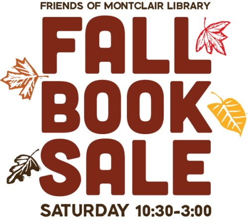 Fall Book Sale at Montclair Library