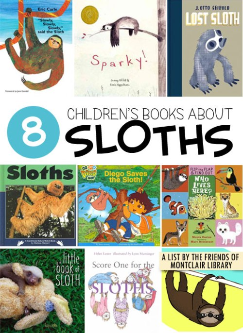 Sloth Books, a list by the Friends of Montclair Library