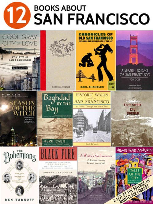 Books about San Francisco, a list by the Friends of Montclair Library