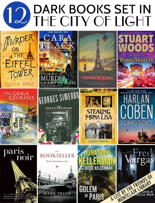 Mysteries set in Paris, a list by the Friends of Montclair Library