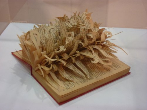 Altered book photo by cathredfern via Flickr