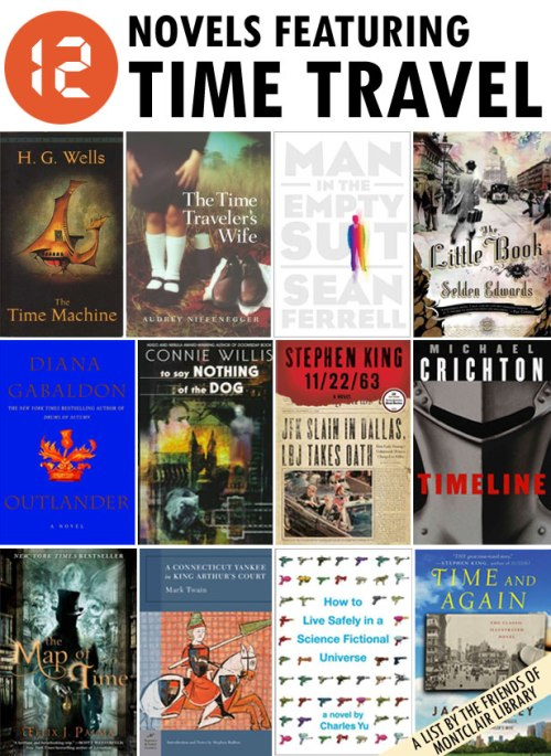 Time Travel Books, a list by the Friends of Montclair Library