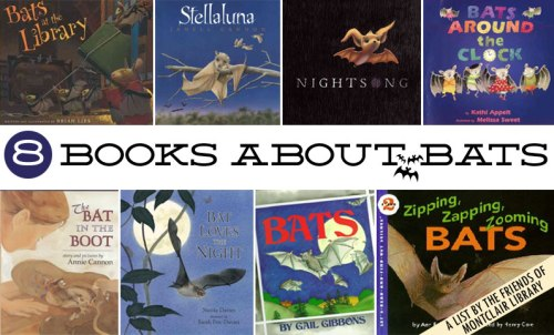 Books about Bats, a list by the Friends of Montclair Library