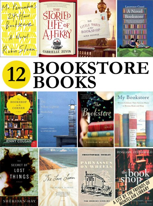 Bookstore Books, a list by the Friends of Montclair Library