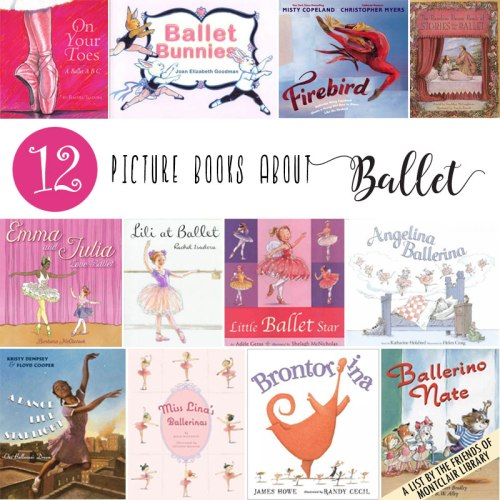 Ballet books, a list by the Friends of Montclair Library