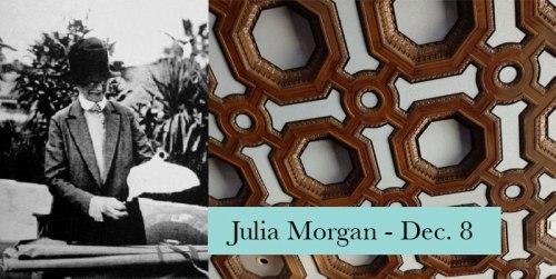 Julia Morgan visits the Montclair Library Dec. 8, 2016