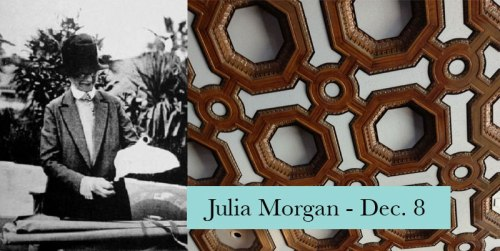 Julia Morgan visits the Montclair Library Dec. 8, 2016