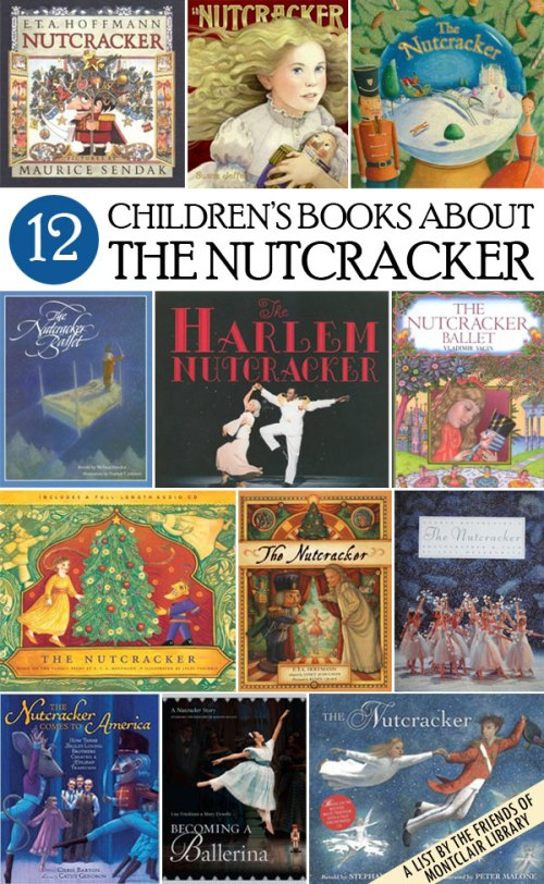 Nutcracker books, a list by the Friends of Montclair Library