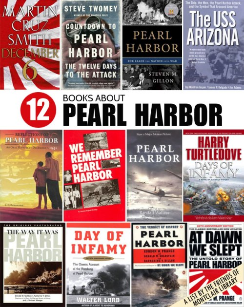 Books about Pearl Harbor, a list by the Friends of Montclair Library