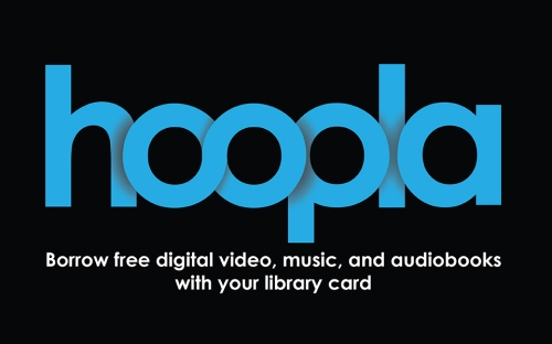 Hoopla app from the Oakland Public Library