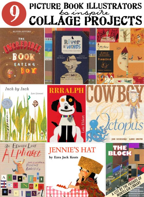 Collage picture books, a list by the Friends of Montclair Library