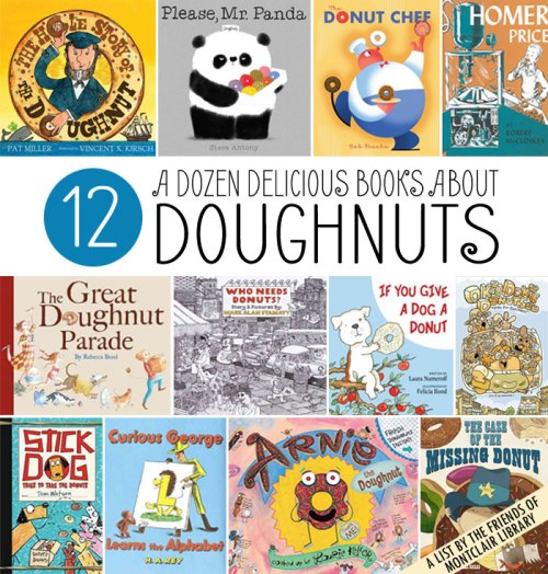 Picture books about doughnuts, a list by the Friends of Montclair Library