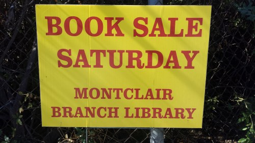 Book Sale Saturday