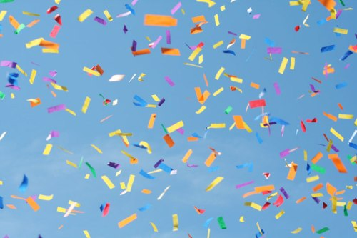 Confetti photo by ADoseofShipBoy via Flickr