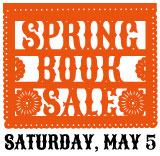 Spring Book Sale May 5, 2018
