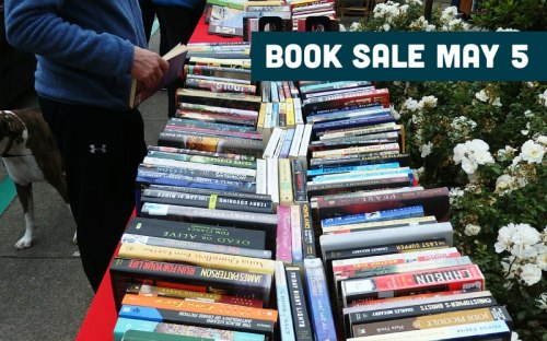 Book Sale May 5, 10am-3pm