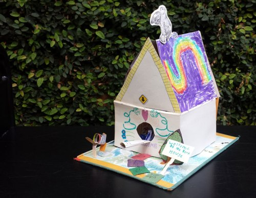 Birdhouse for Birds by Charlotte P.