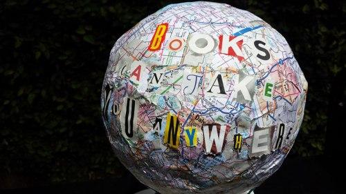 Books Can Take You Anywhere by Edain B.