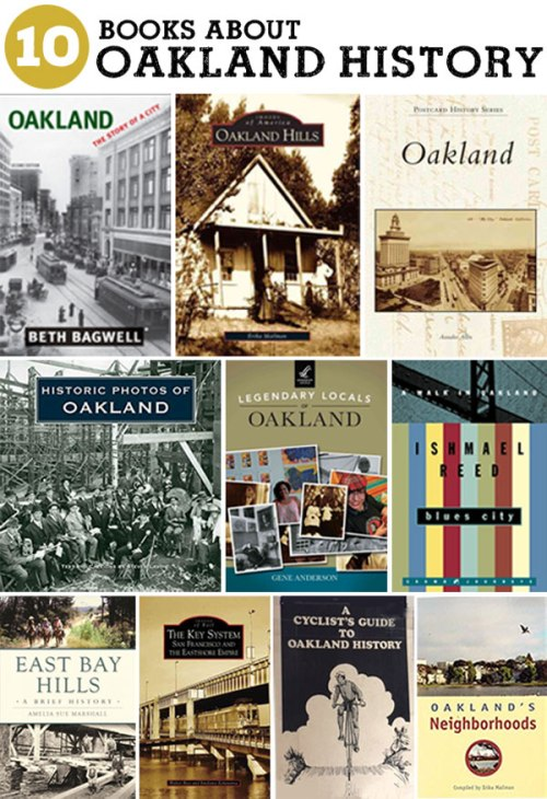Oakland History Books, a list by the Friends of Montclair Library