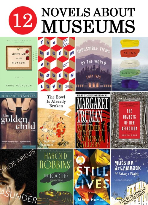 Novels set in museums, a list by the Friends of Montclair Library