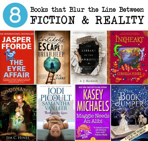 6 Books that Blur the Line Between Fiction & Reality, a list by the Friends of Montclair Library