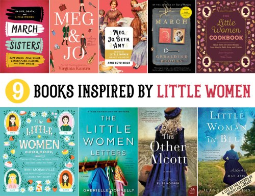 Books inspired by Little Women, a list by the Friends of Montclair Library