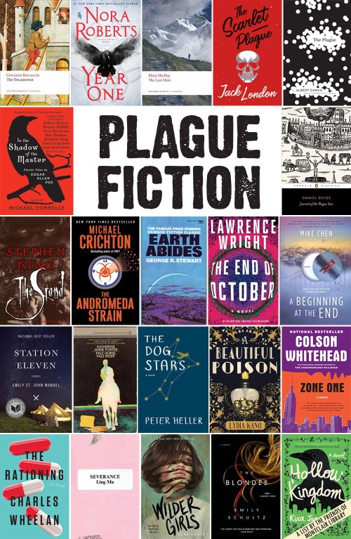 Plague Fiction, a list by the Friends of Montclair Library